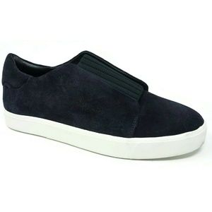Vince Cantara Slip On Sneakers Suede Blue Size 9